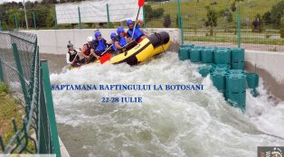 Saptamana raftingului la    Botosani 22-28 iulie 2019