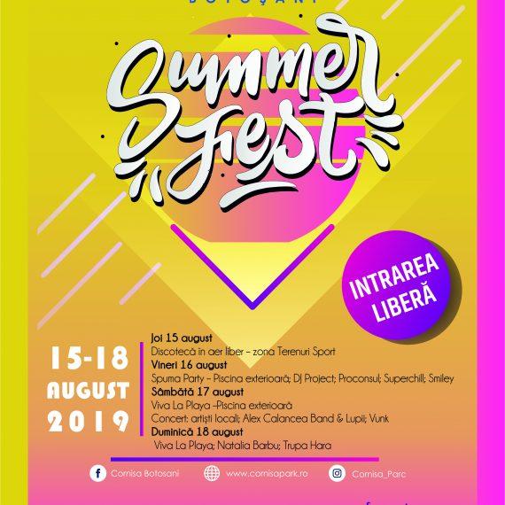 SUMMER FEST 2019-CORNISA BOTOSANI